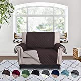RHF Reversible Chair and a Half Cover&Chair and a Half Covers,Slipcovers for Chair and a Half, Chair and a Half Covers,Pet Cover for Chair and a Half,Machine Washable(Chair and a half: Choco/Beige)