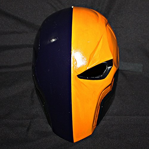 11 Deathstroke Arkham Helmet Mask Halloween Costume Cosplay Batman MA161 & Deathstroke Costumes: Amazon.com