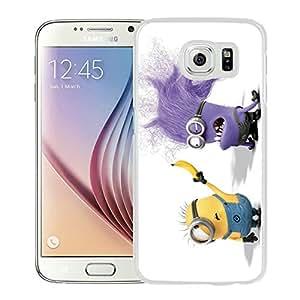 Fashion Designed Despicable Me 14 White Samsung Galaxy S6 Phone Case