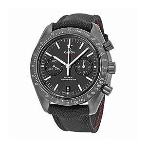 Amazon Com Omega Speedmaster Co Axial Chronograph Quot Dark