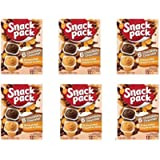 Snack Pack Chocolate and Butterscotch Pudding, 12 count (Pack of 6 )