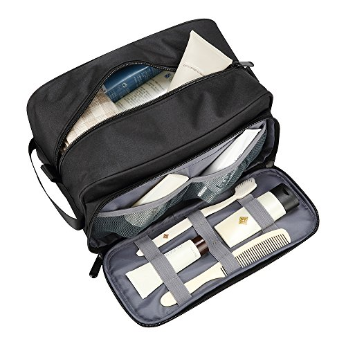 Travel Toiletry Bag Waterproof Bathroom Shower Bags Travel Dopp Kit Essentials Packing Organizer for Men Women