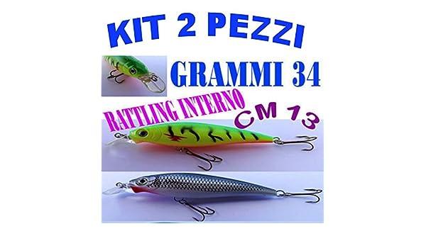 Carson Artificial Spinning Pesca Black Bass lubina Invernadero GR ...