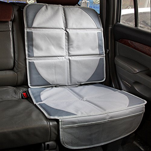 baby commander premium waterproof car seat protector cover mat with pocket easy to clean use to. Black Bedroom Furniture Sets. Home Design Ideas