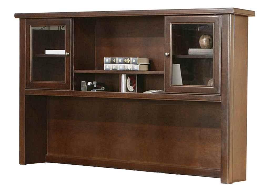 kathy ireland Home by Martin Tribeca Loft Cherry Hutch - Fully Assembled