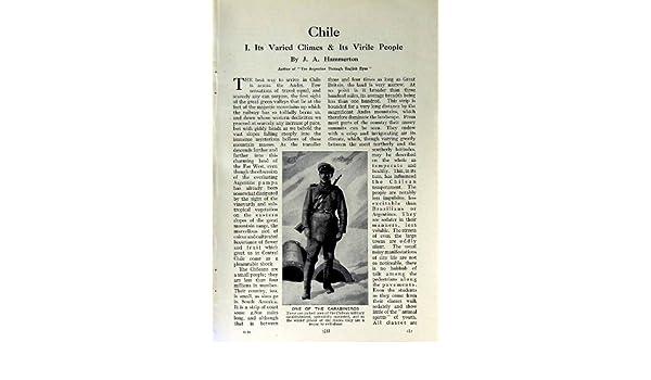 VESTIDO CHILENO de la MUJER de c1920 CHILE CARABINEROS MANTO: Amazon.es: Hogar