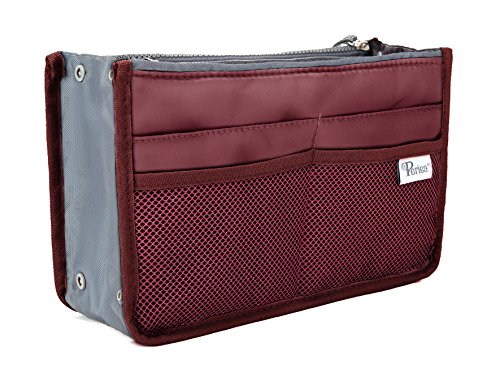 Periea Handbag Organizer - Chelsy (Large, Wine) (Best Site For Baby Stuff)