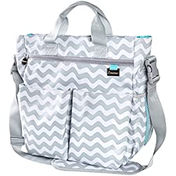 Diaper Bag with Changing Pad & Adjustable Shoulder Strap
