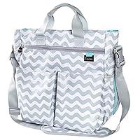 Premium Designer Diaper Bag by Liname - BONUS Changing Pad & Adjustable Shoul...