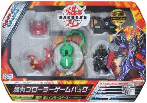 BAKUGAN GP-002 Brawler Game Pack Battle! Bakugan Inter space Set [JAPAN] by Sega by Sega Toys