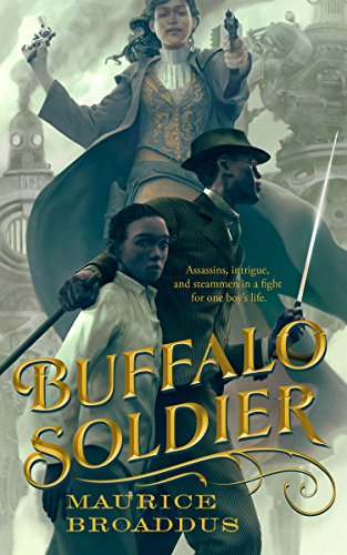 book cover of Buffalo Soldier