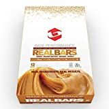 BASE Performance REAL BAR Box of 12 - Peanut Butter Flavor | Gluten Free, Soy Free, GMO Free, and Dairy Free - Contains Peanut Butter / Dates / Quinoa / Honey and many other natural ingredients