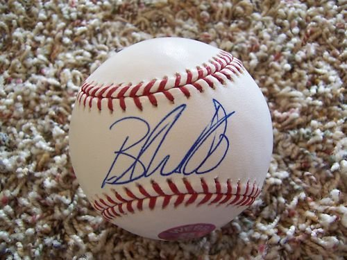 BRANDON WEBB SIGNED MLB BASEBALL -Webb Hologram Authenticated