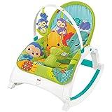 Fisher-Price Newborn-to-Toddler Portable Rocker, Rainforest [Amazon Exclusive]