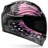 Bell Monarch Women's Vortex Street Bike Motorcycle Helmet - Pink / X-Large