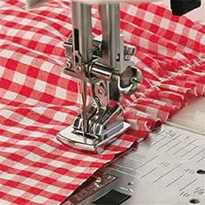Patas planas – nuevo dobladillo plegable pies Kit para máquina de coser 2 piezas: Amazon.es: Juguetes y juegos