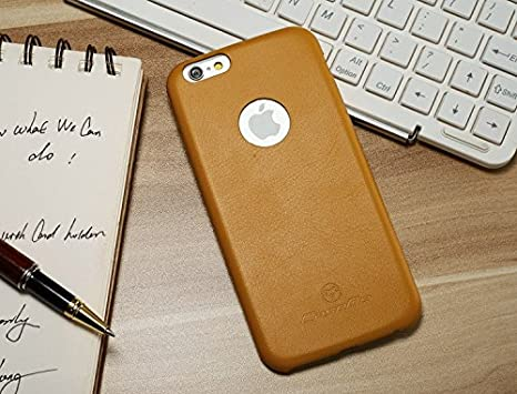 Excelsior Premium Ultrathin Leather Back Cover Case for Apple iPhone 6 Plus/6s Plus   Brown Mobile Phone Cases   Covers