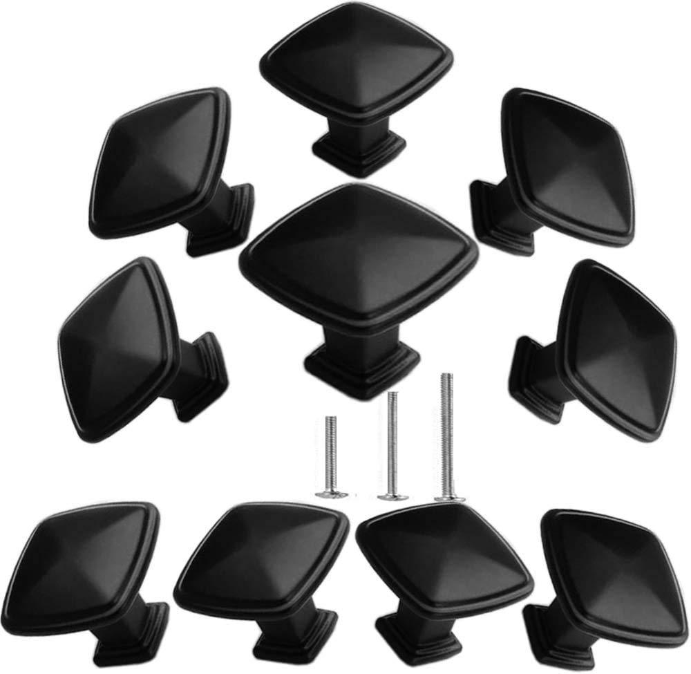 10 Tiradores - Negro (88H7QW54)