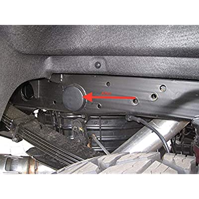 Prescott Plastics 2500HD Rear Wheel Well Frame Tube Hole Caps - Fits 2001-2020 GMC Sierra and Chevrolet Silverado 2500 HD Accessory 4x4 2x4 - Frame Plugs Rear WheelWell (4 Pack): Automotive