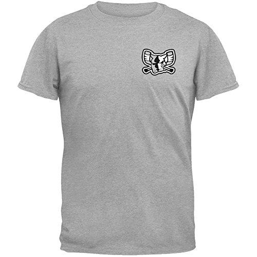 Old Glory Richmond Riverdogs Wappen Print Mono Mad Hunde-T-Shirt