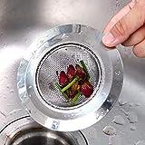 2 Pack Kitchen Sink Strainer, Large Wide Rim