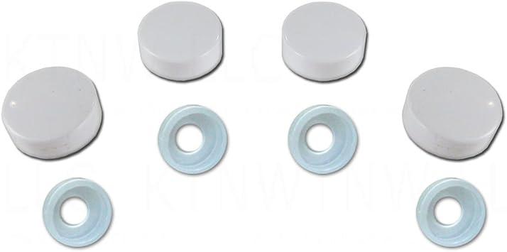 Number Plate Fixings Caps Pads Screws