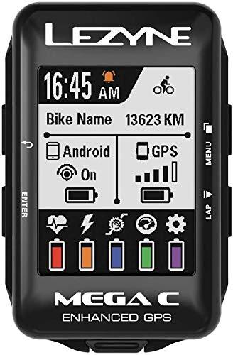 LEZYNE Mega C GPS Bike Computer Black