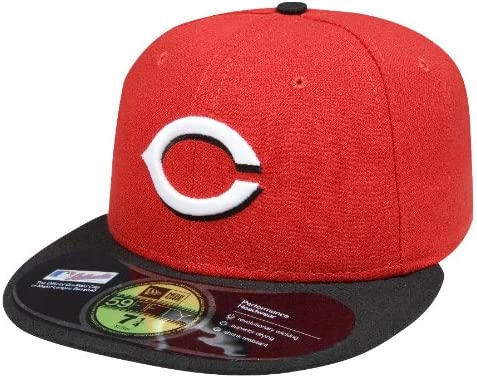 New Era 59Fifty MLB Cap Cincinnati Reds AC On Field Fitted Home Hat