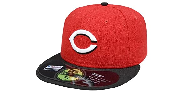 Amazon.com   New Era Cincinnati Reds Fitted Snapback Red 7 3 8   Sports Fan  Baseball Caps   Sports   Outdoors 4ecf5fbb911d