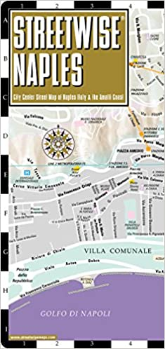 Streetwise Naples Map - Laminated City Center Street Map of Naples ...
