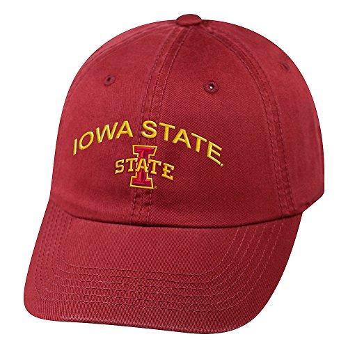 the best attitude db450 4f48f Top of the World NCAA Iowa State Cyclones Men s Adjustable Hat Relaxed Fit .