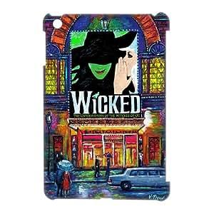 WEUKK Musical Wicked iPad Mini 3D shell case, custom cover case for iPad Mini Musical Wicked, custom Musical Wicked cell phone case