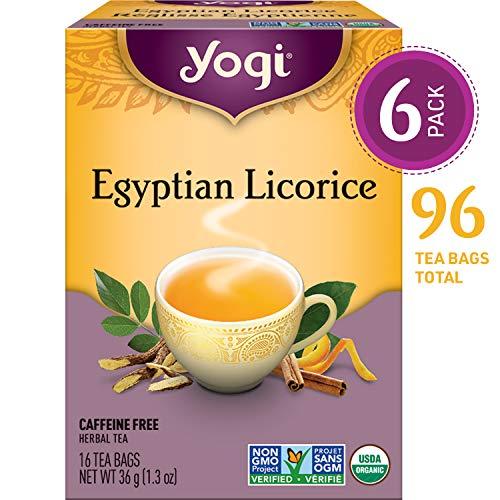 Licorice Bag - Organic Egyptian Licorice 16 tea bags by Yogi Tea