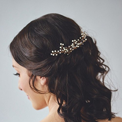 Venusvi Wedding Hair Pins for Bride- Bridal Hair Accessories for Bridesmaids
