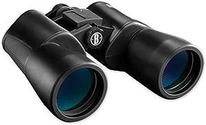 Bushnell Powerview 16x50mm BK-7 Porro Prism Rubber Armored Binoculars, Black