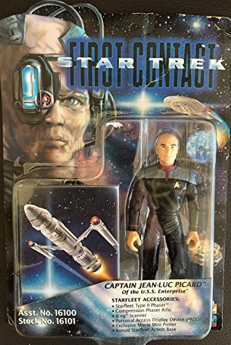 (Star Trek Captain Jean-Luc Picard First Contact Action Figure)