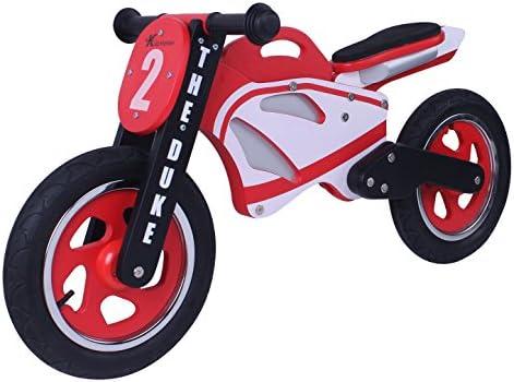 La moto de madera Duke Bike Balance: Amazon.es: Juguetes y juegos
