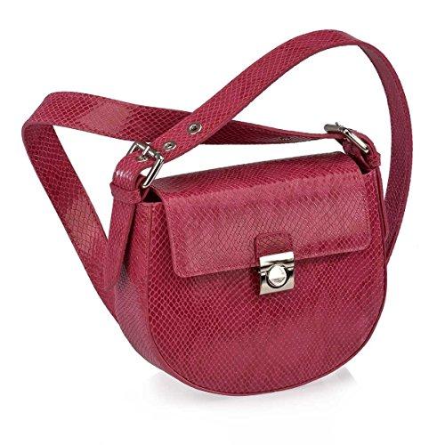 Victorio & Lucchino Bolso de Mujer con Bandolera 10362 Serpiente Rosa