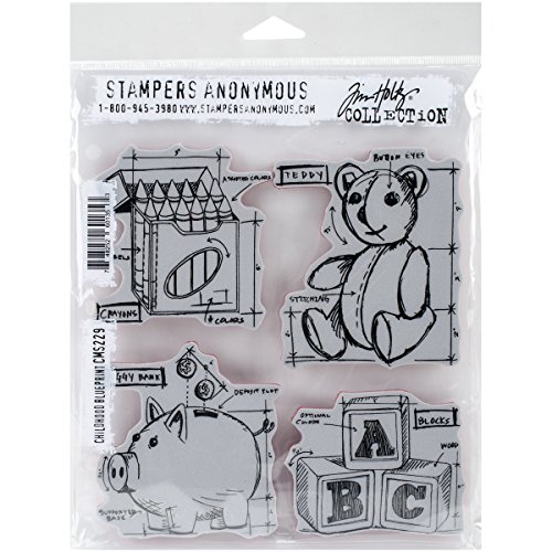 stampers-anonymous-tim-holtz-cling-rubber-childhood-blueprint-stamp-set-7-x-85