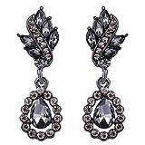 EleQueen Women%27s Austrian Crystal Art