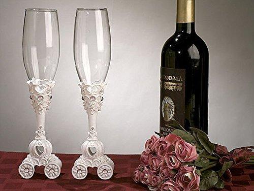 CC416 Fairytale Theme Toasting Glasses Wedding Favors & - Toasting Theme Glasses