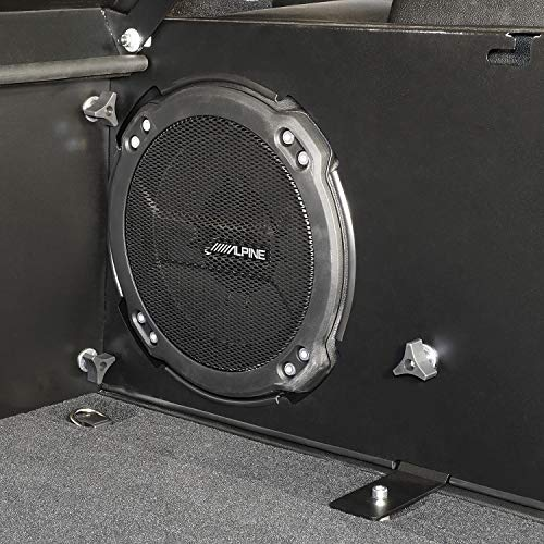 Tuffy 351-01 Jl 2018+ Deck Enclosure/Subwoofer, 01-Black, Us 8256819, 8517445, 9039062, 9079625, Other Patents Pending