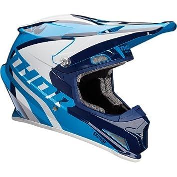 Casco Cross Thor Sector Ricochet – azul/blanc-s-0110 – 5161