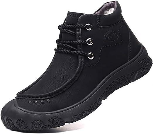 QYXDD - Zapatillas de Running para Hombre Negro Negro 43: Amazon.es: Jardín