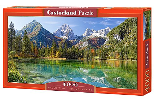 Castorland - Majesty of the Muntains 4000 piece panoramic puzzle