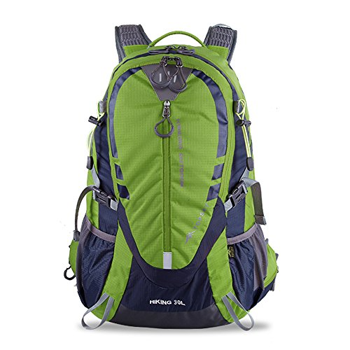 Topsky 30L 40L Outdoor Hiking Camping Backpack Unisex Riding Bike Daypack Cycling Travel Rucksack Shoulder Bag with Helmet Storage and Rain Cover by Duhud
