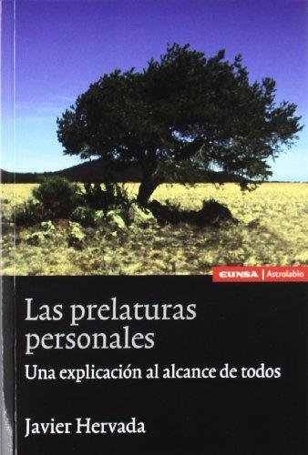 Las prelaturas personales: una explicación al alcance de todos (Astrolabio derecho) por Hervada Xiberta, Javier