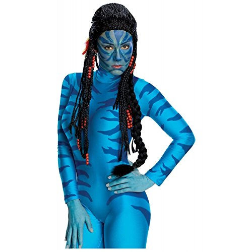GSG Neytiri Wig Costume Accessory Adult Womens Avatar Na'vi Halloween