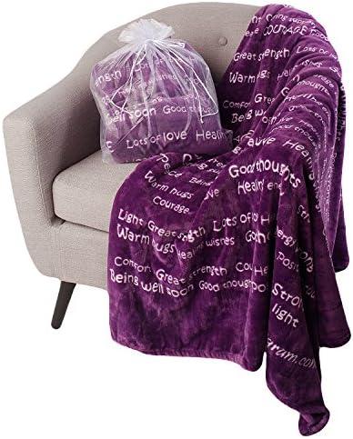 BlankieGram Healing Thoughts Blanket Ultimate