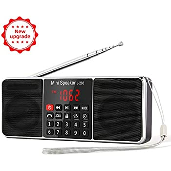 Amazon.com: Avantree Portable FM Radio with Bluetooth ...